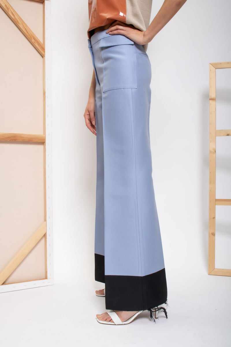 Celine Wide Leg Trousers