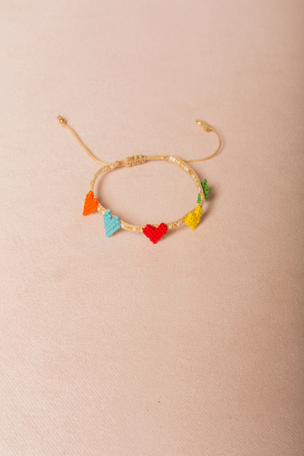Pulsera Multi Heart Row | MISHKY