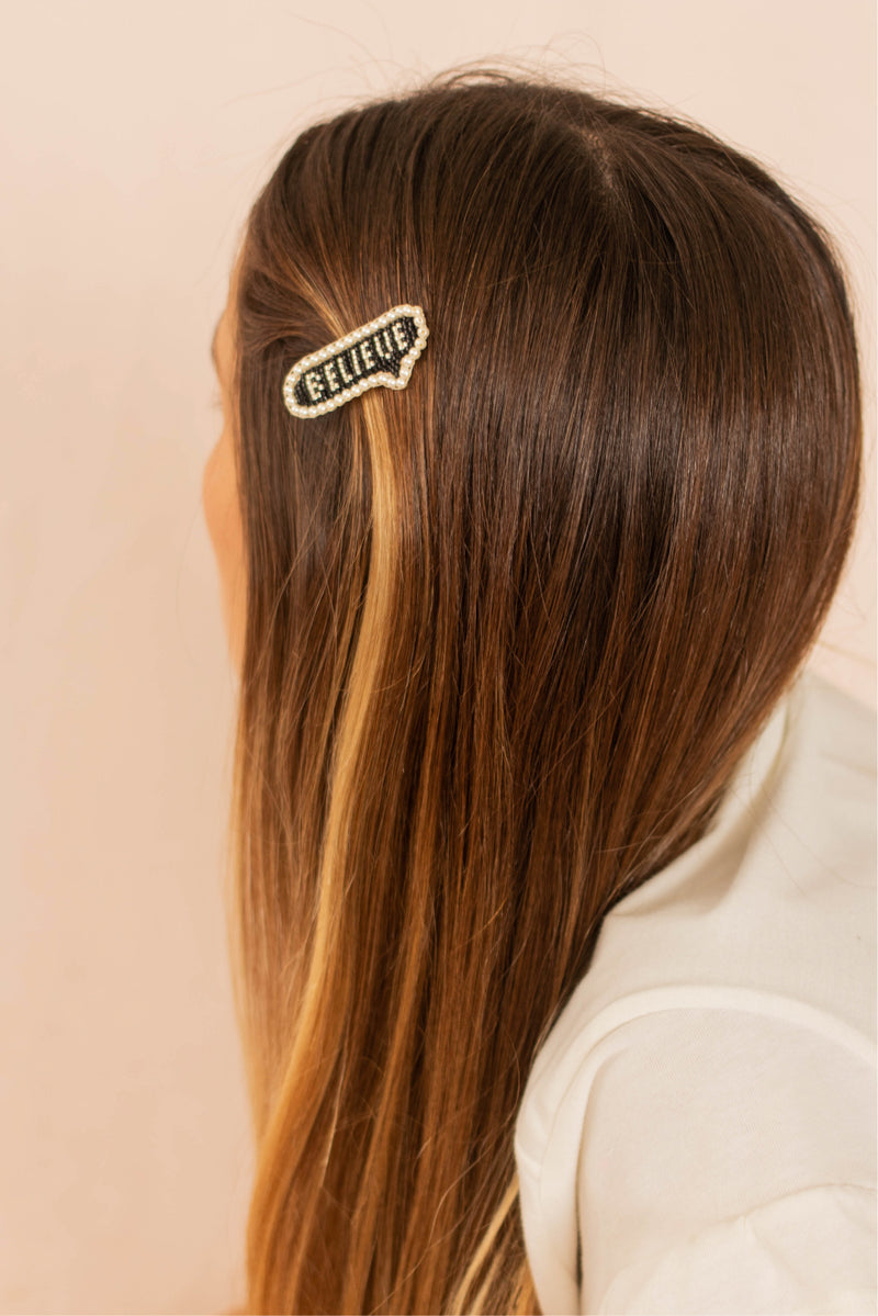 Believe Hair Clip | MISHKY
