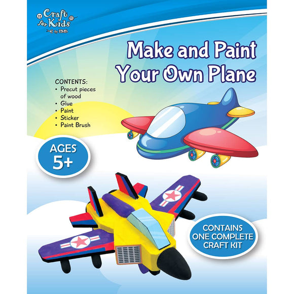 Make And Paint Your Own Plane - Art and craft - [Little_Sotty]