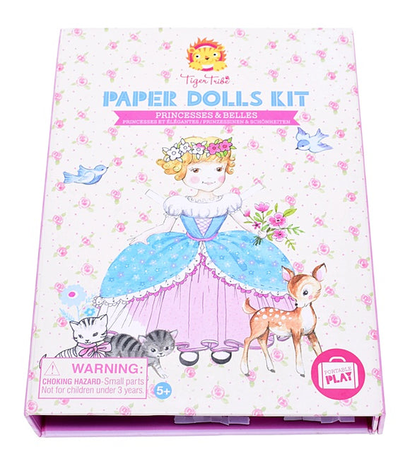 Paper Dolls Kit - Princesses & Belles - Art and craft - [Little_Sotty]