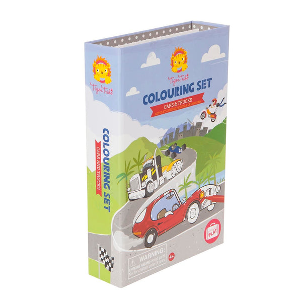 Colouring Set - Cars & Trucks - Art and craft - [Little_Sotty]