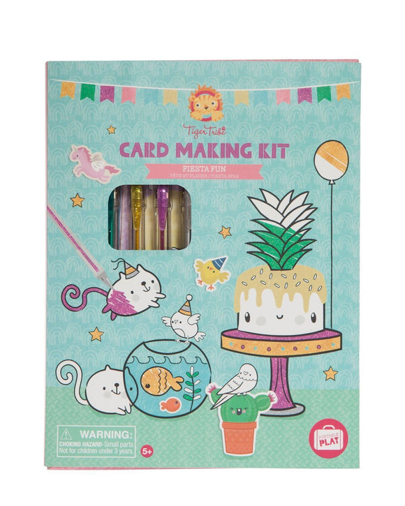 Card Making Kit - Fiesta Fun - Art and craft - [Little_Sotty]