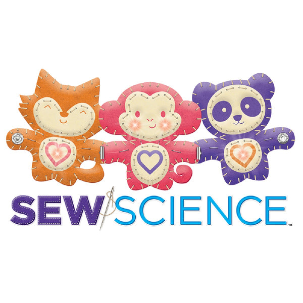 SmartLab Toys Sew Science: Cuddly Critters - Art and craft - [Little_Sotty]