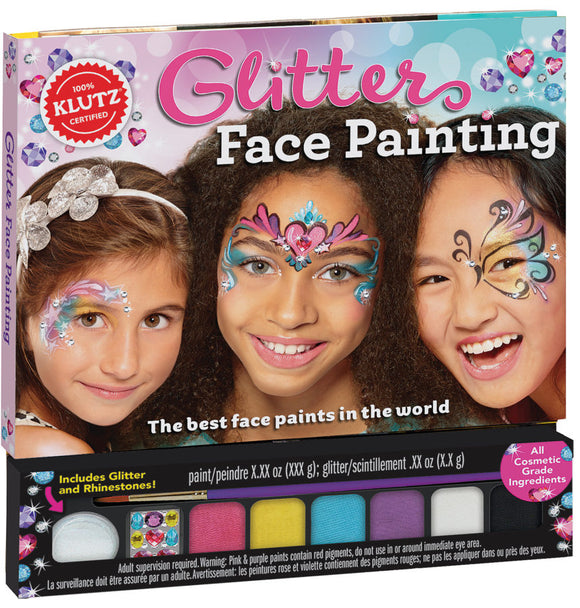Glitter Face Painting - Art and craft - [Little_Sotty]