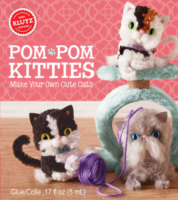 Pom-Pom Kitties - Art and craft - [Little_Sotty]