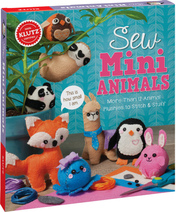 Sew Mini Animals - Art and craft - [Little_Sotty]