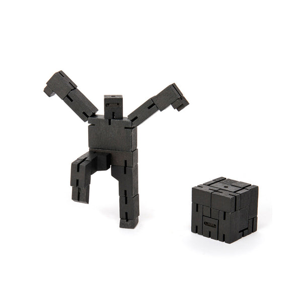 Cubebot Micro Ninja Robot Toy - black - Other fun stuff - [Little_Sotty]