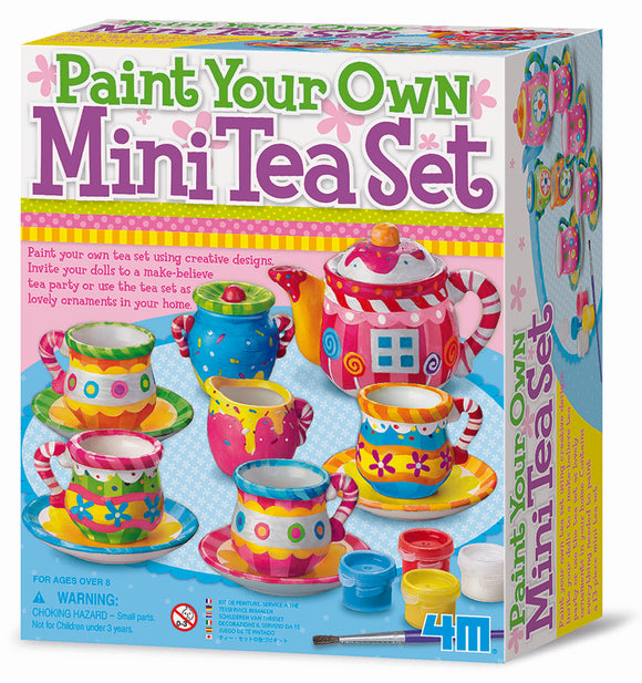 4M - Paint your own Mini Tea Set - Art and craft - [Little_Sotty]