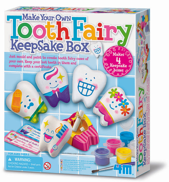 4M - Tooth Fairy Keepsake Box - Art and craft - [Little_Sotty]