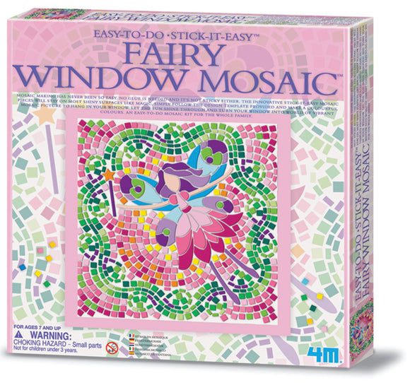 4M - Fairy Window Mosaics - Art and craft - [Little_Sotty]