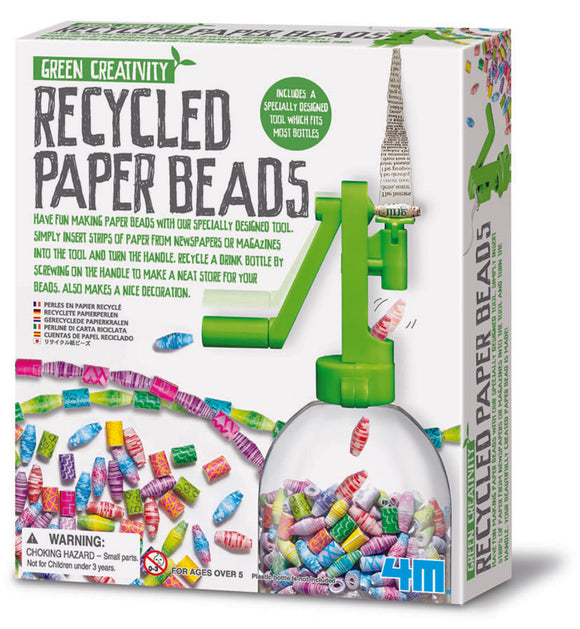 4M - Recycled Paper Beads - Art and craft - [Little_Sotty]