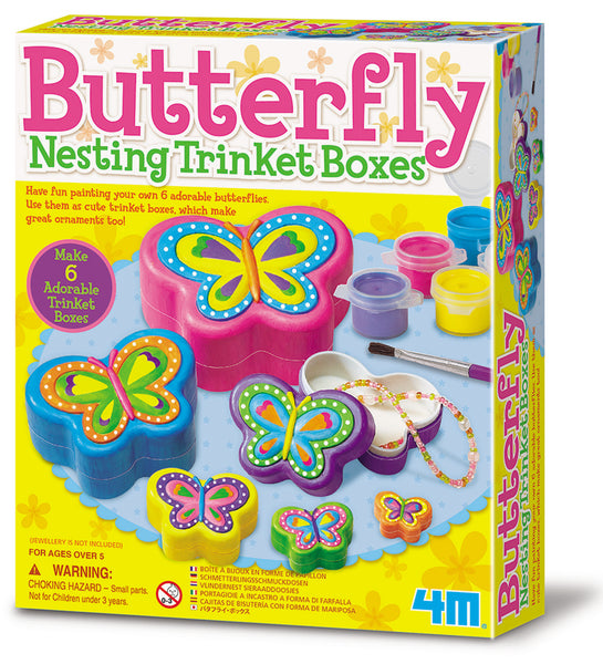 4M - Butterfly Nesting Trinket Box - Art and craft - [Little_Sotty]