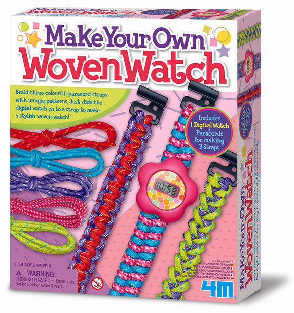 4M - Woven Watch: Make Your Own - Art and craft - [Little_Sotty]