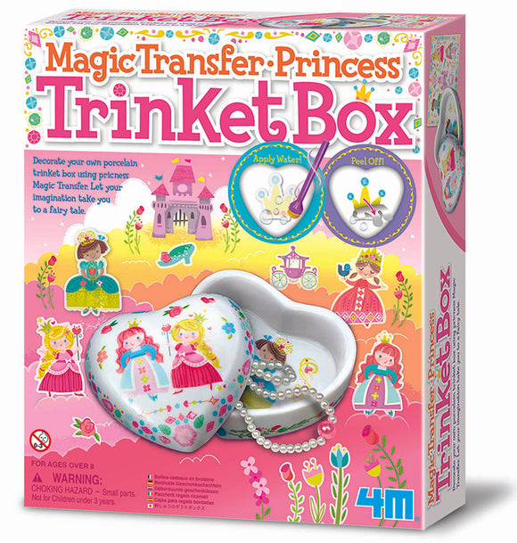 4M - Princess Trinket Box: Magic Transfer - Art and craft - [Little_Sotty]