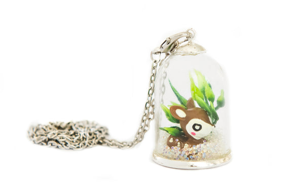 Make Your Own Woodland Pendant - Deer - Art and craft - [Little_Sotty]