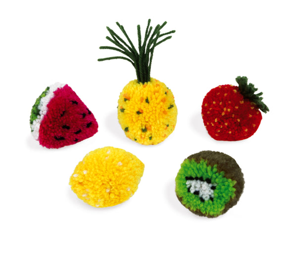 Janod pom pom fruits - Art and craft - [Little_Sotty]