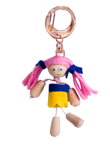 Make Your Own Friendship Dolls keyrings - Art and craft - [Little_Sotty]