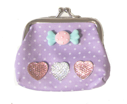 Make Your Own Designer Purse - Purple Sweetie - Art and craft - [Little_Sotty]