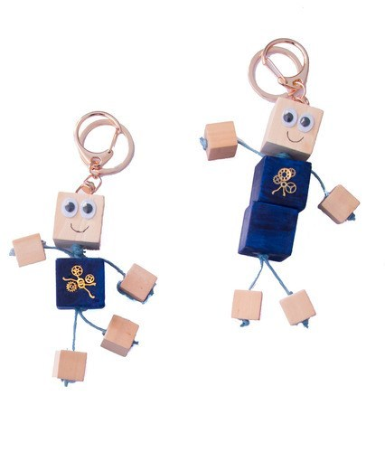 Make Your Own Friendship robot keyrings - Art and craft - [Little_Sotty]
