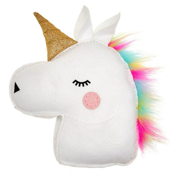 Glitterati Unicorn sewing pillow - Art and craft - [Little_Sotty]