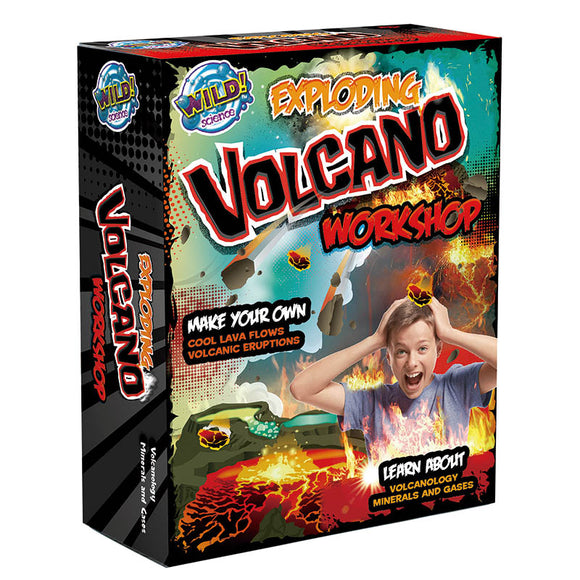 Exploding Volcano Workshop - Science - [Little_Sotty]