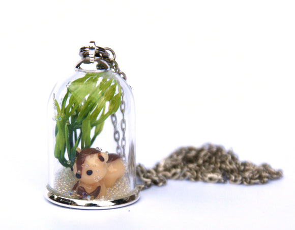 Make Your Own Woodland Pendant - Squirrel (Brown) - Art and craft - [Little_Sotty]