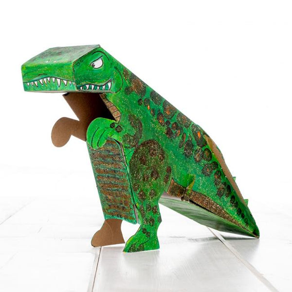 Calafant level 1 activity model - Dinosaur - Art and craft - [Little_Sotty]