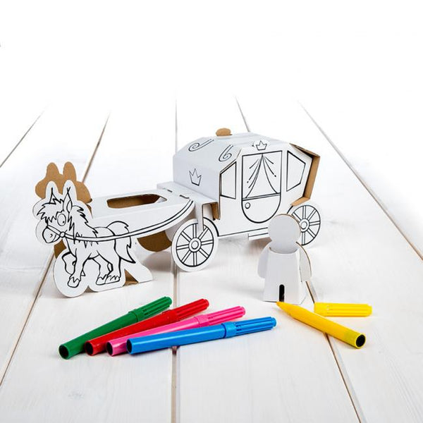 Calafant level 1 activity model - Horse and carriage - Art and craft - [Little_Sotty]