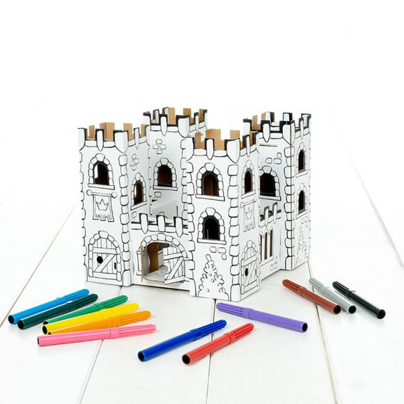 Calafant level 2 activity model - Dragon rock castle - Art and craft - [Little_Sotty]