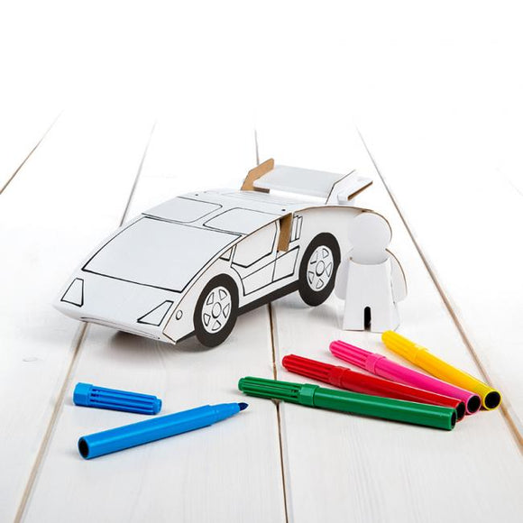 Calafant level 1 activity model - Sports car - Art and craft - [Little_Sotty]
