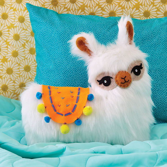 Sew your own furry llama pillow - Art and craft - [Little_Sotty]