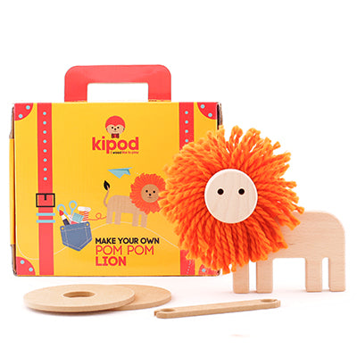 KIPOD pom pom lion - Art and craft - [Little_Sotty]