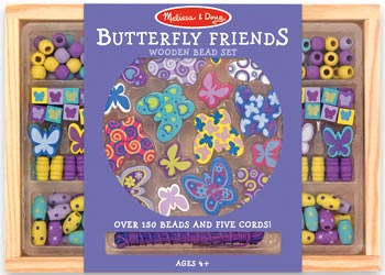 Melissa & Doug - Butterfly Friends Bead Set - Art and craft - [Little_Sotty]