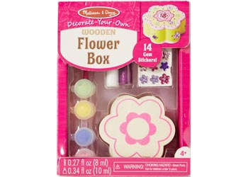 Decorate-Your-Own Wooden Flower Box - Art and craft - [Little_Sotty]