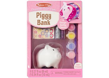 Decorate-Your-Own Piggy Bank - Art and craft - [Little_Sotty]