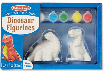 Decorate-Your-Own Dinosaur Figurines - Art and craft - [Little_Sotty]