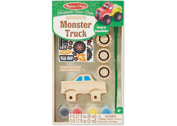Decorate-Your-Own Monster Truck - Art and craft - [Little_Sotty]