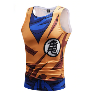 Men's Dragon Ball Bodybuilding Tank Tops