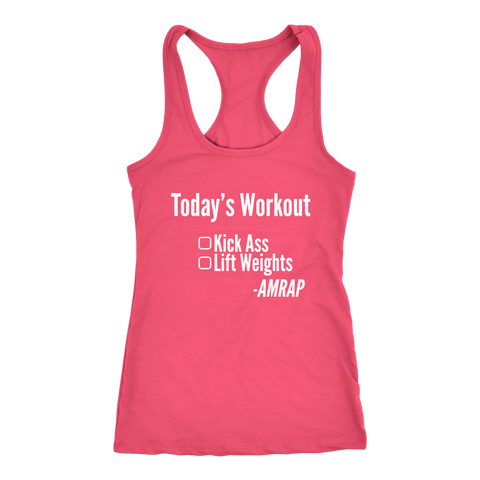 Image of Kick Ass - As Many Reps As Possible - Women's Racerback Tank