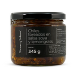Chiles Toreados en Salsa Soya y Lemongrass