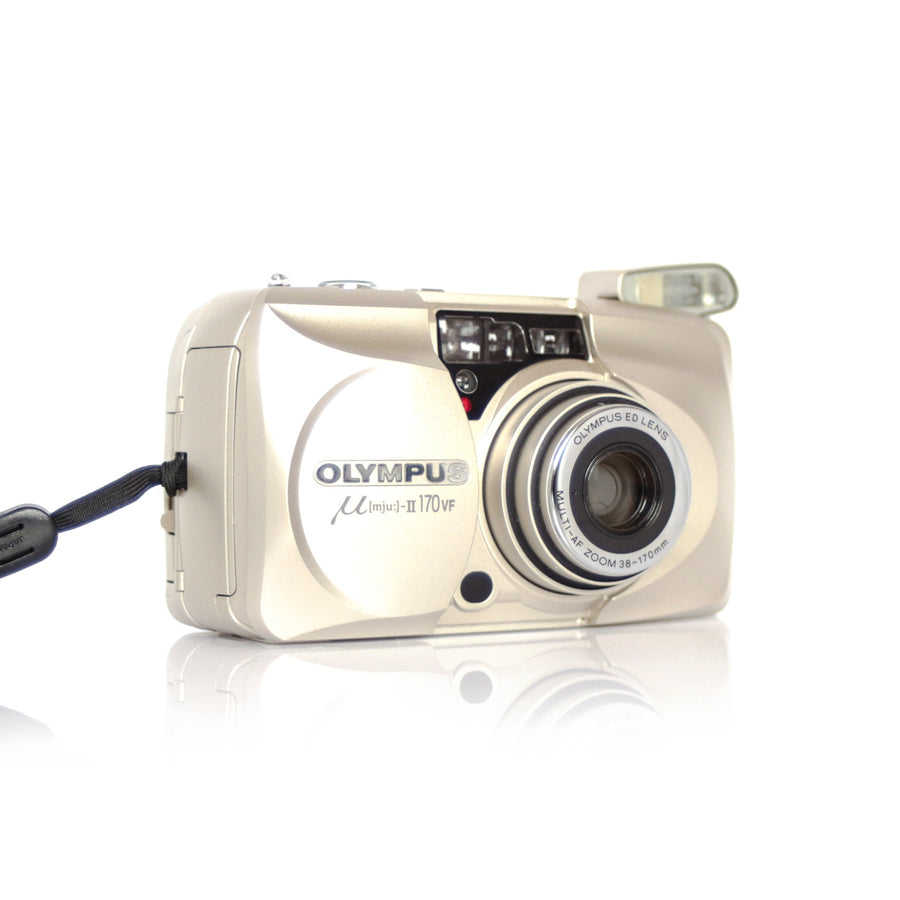 OLYMPUS µ[Mju:]-II Stylus Epic 170 VF Point and Shoot Film Camera