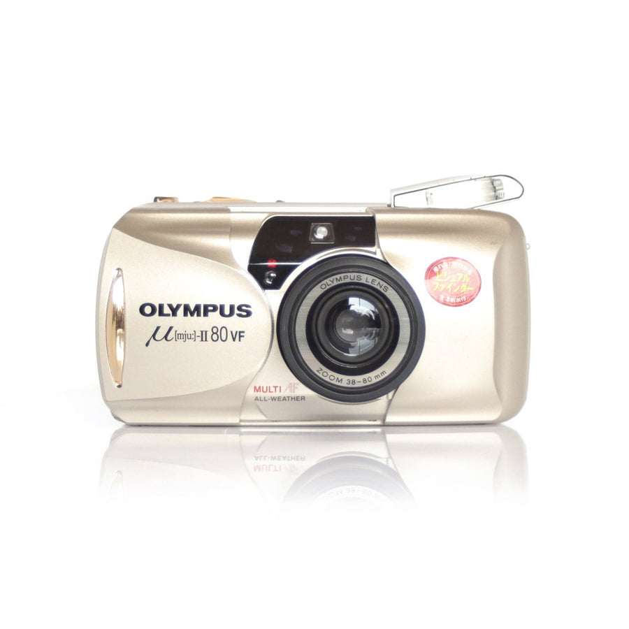 OLYMPUS µ[Mju:]-II Stylus Epic 80 VF Point and Shoot Film Camera