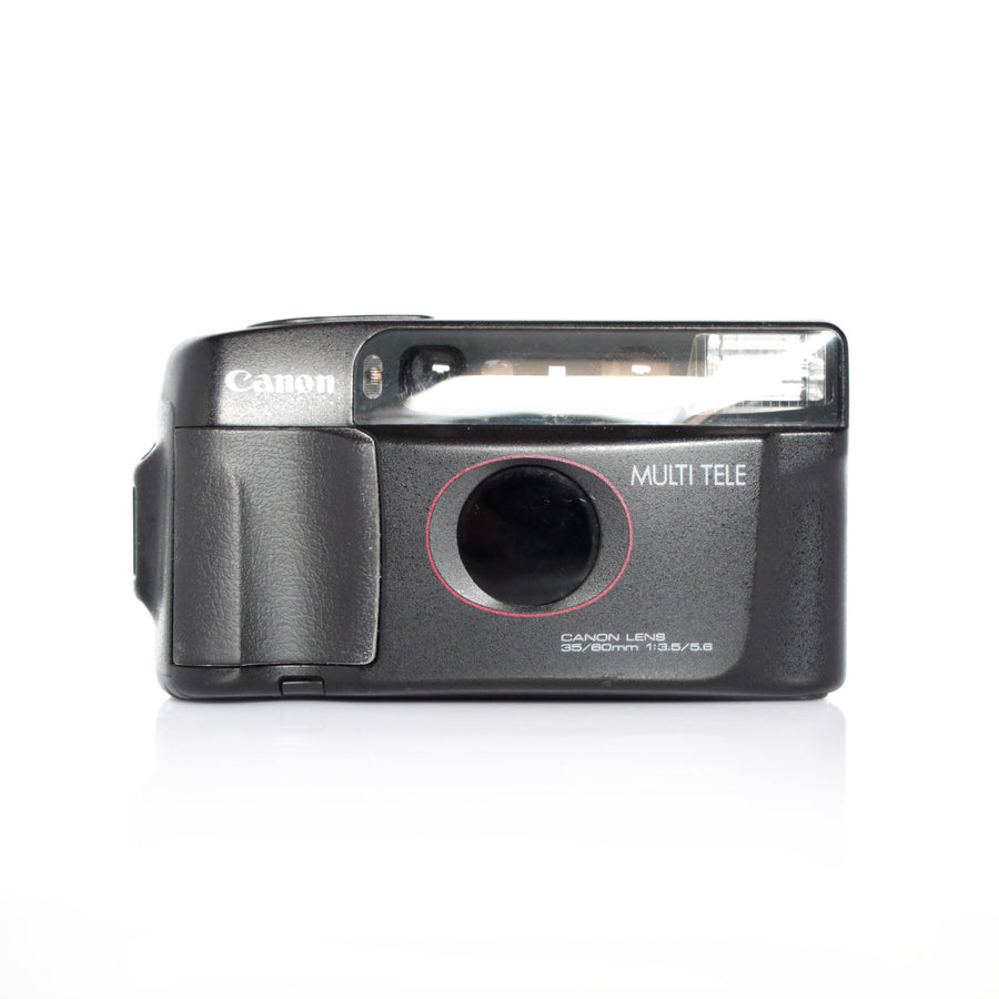 CANON Sure Shot/Tele 6 Dual-lens 35/60mm Point and Shoot Film Camera