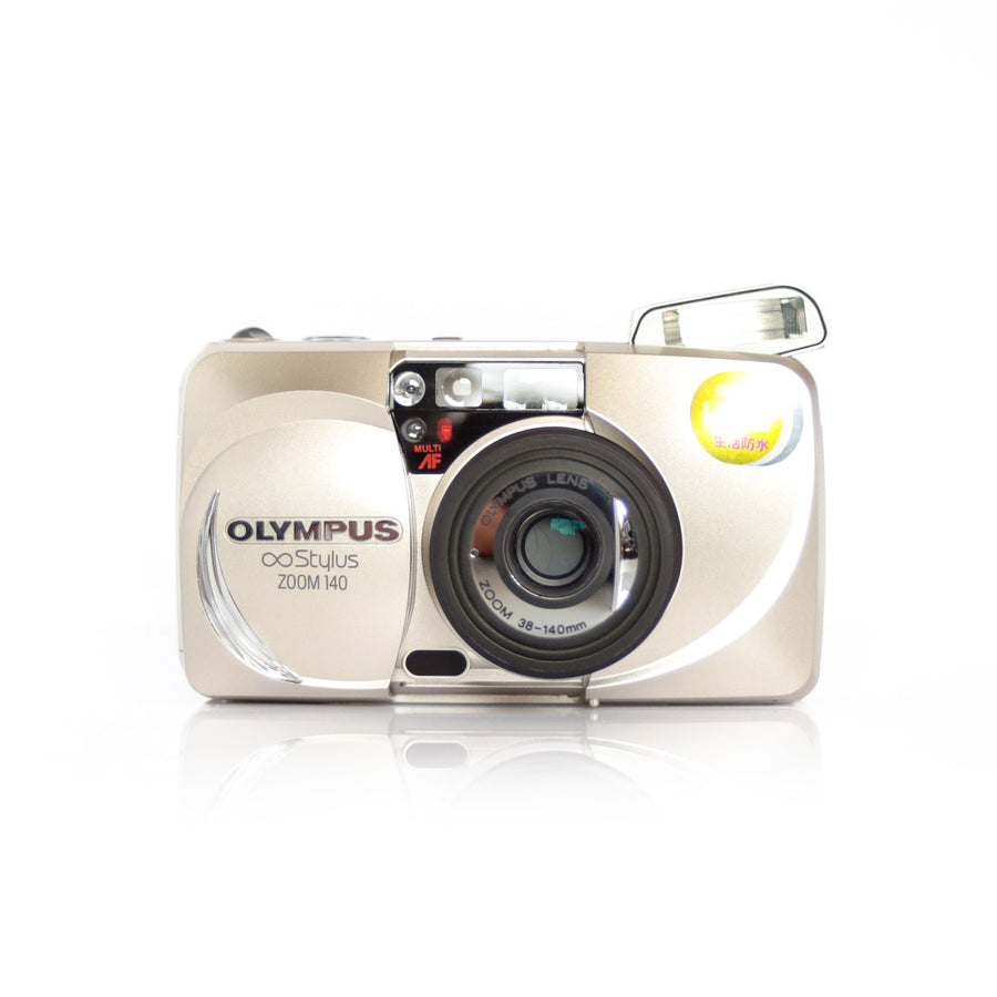 OLYMPUS µ[Mju:] Stylus Zoom 140 38-140mm Point and Shoot Film Camera (With Box)