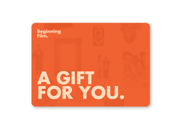BEGINNING FILM Gift Card