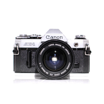 CANON AE-1 35mm SLR W/ Canon FD Lens 35-70mm