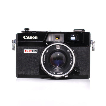 CANON Canonet G-III QL17 Rangefinder 35mm Film Camera