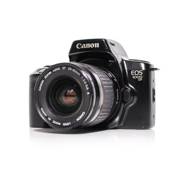 CANON EOS 1000QD Autofocus 35mm SLR Film Camera W/ Canon EF 28-80mm Zoom Lens