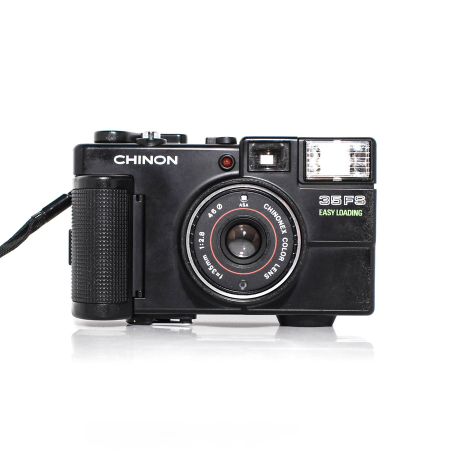CHINON 35FS Easy Loading 35mm f2.8 Point and Shoot Film Camera